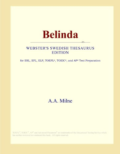 Belinda (Webster's Swedish Thesaurus Edition)