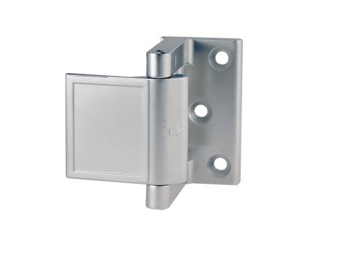 (PEMKO PDL26D/15 Privacy Door Latch, Satin Chrome/Satin Nickel finish, 1-1/2
