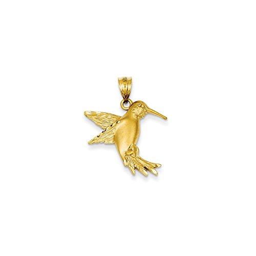 Roy Rose Jewelry 14K Yellow Gold Hummingbird Charm ()