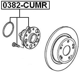 Rear Wheel Hub For Honda Febest 42200Ta0A51