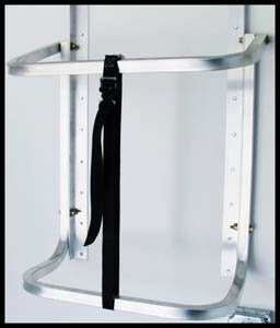 Triton 14688 Hoop Style Spare Tire Carrier Kit for Enclosed Trailers by Triton