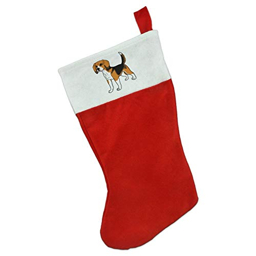 GRAPHICS & MORE Beagle Pet Dog Christmas Holiday Felt - Stocking Christmas Beagle