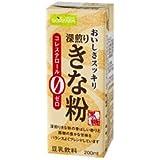 ソヤファーム おいしさスッキリ きな粉豆乳飲料 200ml紙パック×24本入×(2ケース)