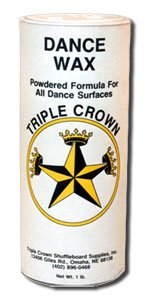 Triple Crown Dance Floor Powder Wax - 6 Pack of One Pound Cans