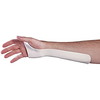 Amazon Com Ulnar Gutter Wrist Splint Small Medium