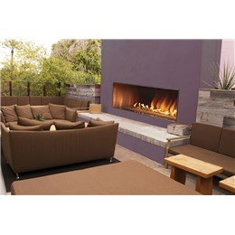 Outdoor See Through Fireplace (Carol Rose Outdoor SS See-through 48