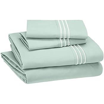 Amazon com: Bare Home Queen Sheet Set - 1800 Ultra-Soft Microfiber