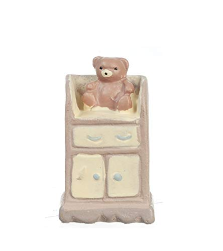 Melody Jane Dollhouse Changing Table 1:48 Scale 1/4 inch Mini Miniature Nursery Furniture