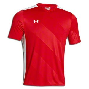 Under Armour UA Fixture Soccer Jersey SM Red