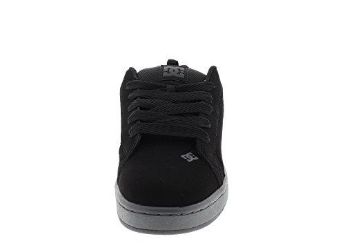 Grey Black Uomo da Court Dk Scarpe Skateboard DC Graffik n14fvPw
