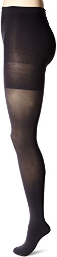 Nylon Tights Spanx - Spanx Women's Luxe Leg Mid-Thigh Shaping Tights Charcoal E