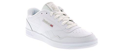 Reebok Men's Club MEMT Sneaker, White/Steel, 11 2E US by Reebok