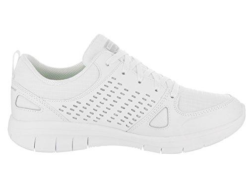 Skechers Sport Synergy 2.0-rising Star Womens Sneaker Bianco / Argento