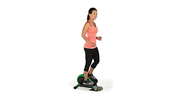 Elíptica Ejercicio equipo, Fitness equipo elliptical-compact y ligero para uso en el hogar o en la oficina, color verde: Amazon.es: Deportes y aire libre