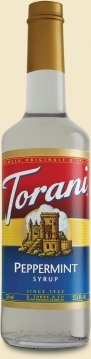 (Torani Peppermint Syrup, 750 ml)