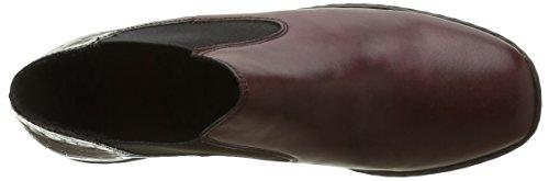 Chelsea Boots Damen Bordeaux Medoc Rieker L6090 Rot 35 Ptw1qpqE