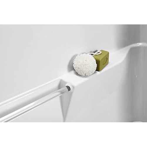 Sterling Plumbing 71040120-0 Performa Bath and Shower Kit, 60-Inch x 29-Inch x 75.5-Inch, Right-Hand, White new