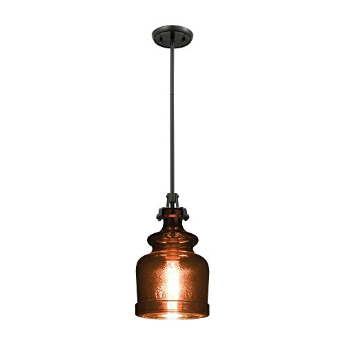 Copper Finish Pendant Light