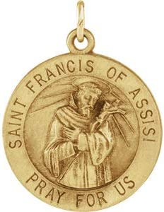 Francis of Assisi Medal Necklace or Pendant Pendant-St