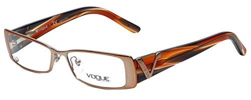 Vogue Designer Eyeglass Frame VO3692-813 in Copper Brown ()