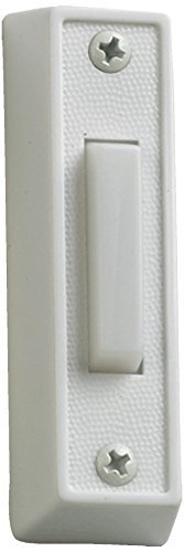 Quorum International 7-101-6 Plastic Door Button, White
