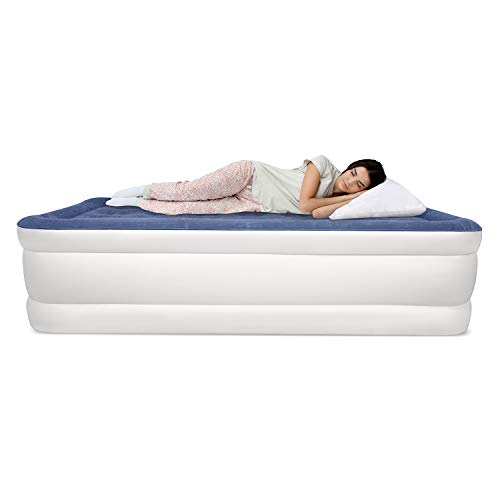 (SoundAsleep Dream Series Air Mattress with ComfortCoil Technology & Internal High Capacity Pump - Twin Size )