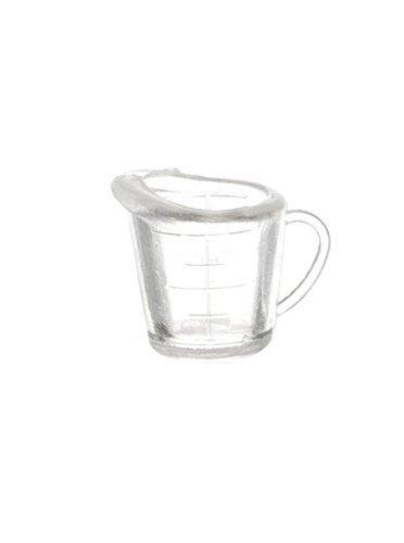Dollhouse Miniature Clear Measuring Cup