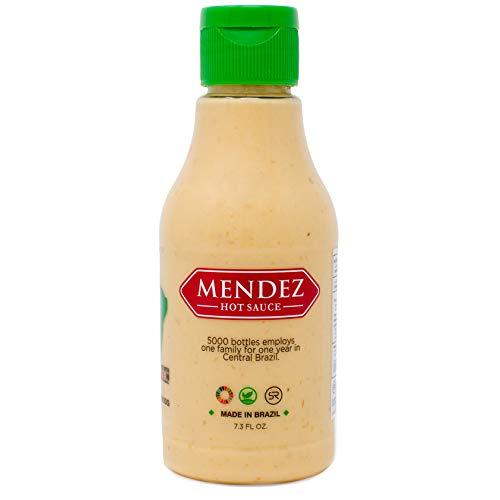 Mendez Hot Sauce - Brazilian - Vegan - Gourmet - Malagueta Peppers - Low Sodium - 7oz - Gourmet Pepper Hot Sauce