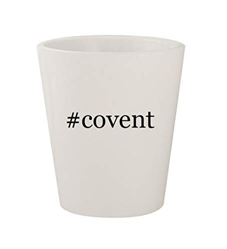 #covent - Ceramic White Hashtag 1.5oz Shot Glass (Covent Opera Glasses)