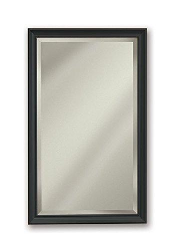 Jensen S568N244SSBZPX Bronze Frame Bevel Mirror Medicine Cabinet, 15