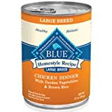 Blue Buffalo Large Breed Dog Canned Food, Chicken (Pack of 12 12.5-Ounce Cans), My Pet Supplies