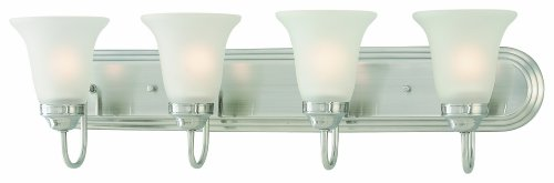 Thomas Lighting SL710441 Homestead Bath Light, Satin Pewter