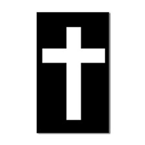 Simple Christian Sticker Trucks Laptop