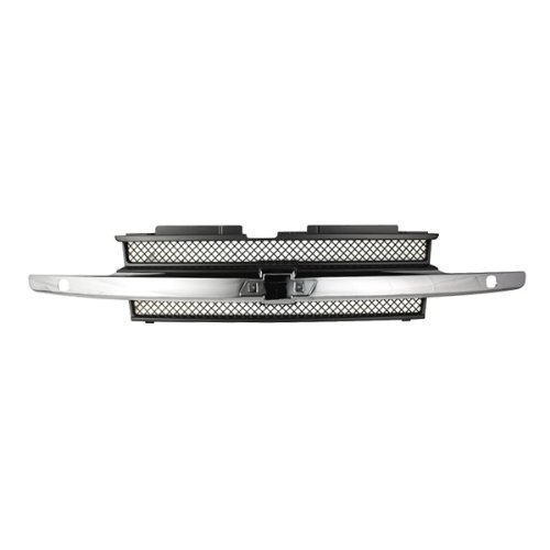 Trailblazer Chrome Grille - 8