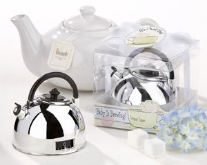 """""""It's About Time - Baby is Brewing"""" Teapot Timer - (set of 25)"""