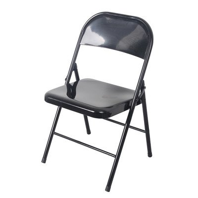 Wee's Beyond 1231-BLK All Metal Heavy Duty Chair, Black by Wee's Beyond