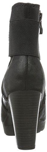 MARCO comb Black 25401 TOZZI Damen 096 Schwarz Stiefel Kurzschaft Ant RORr8