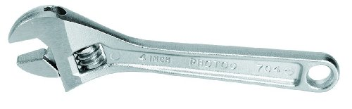 (Stanley Proto J706 Satin Adjustable Wrench, 6-Inch)
