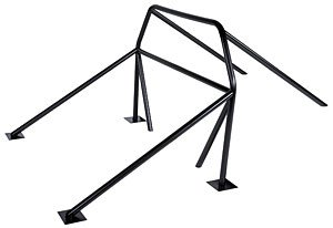 Competition Engineering 3025 8-Point Hoop Roll Cage - Competition Engineering Mustang