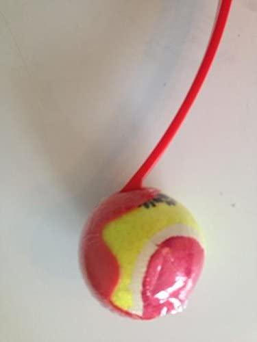 Happy Pet Fling 'N' Fetch Dog Toy Ball Launcher Red or Blue
