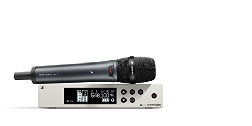 Sennheiser EW 100-945S Wireless Dynamic Supercardioid Microphone System-A Band (516-558Mhz), 100 G4-945-S-A (Handheld Microphone Supercardioid Vocal)
