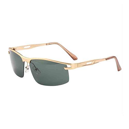 Conducción De De Gafas nbsp; Gafas Gold Personalizado Confort Gama green Gold Sol Antideslumbrante Ligera De Textura Para Alta Polarizadas HONEY Sunny De Hombres Color green TxxzF