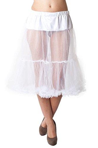 Ludwig und Therese Damen Trachten-Petticoat Esperanza weiß 1408 S