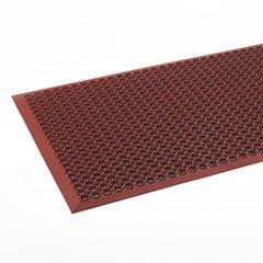 (Safewalk-Light Heavy-Duty Anti-Fatigue Mat, Rubber, 36 x 60, Terra Cotta)