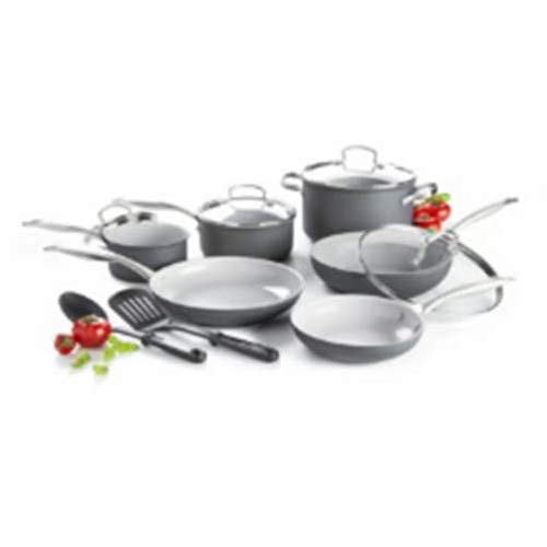 GreenLife Everyday Value 12pc Ceramic Non-Stick Cookware Set (Healthy Ceramic non-stick)