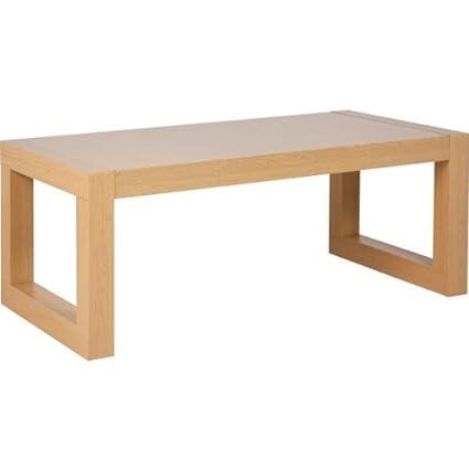 Ex Argos Sophia Coffee Table Oak Effect Flat Packed