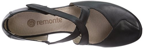 Remonte R7337, Women's Closed Toe Heels Black (Schwarz 01)