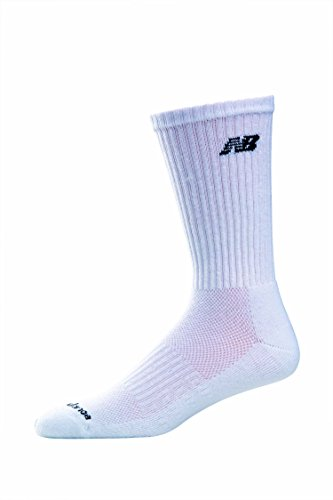 New Balance Women's 6 Pack Core Cotton Crew Socks by New Balance