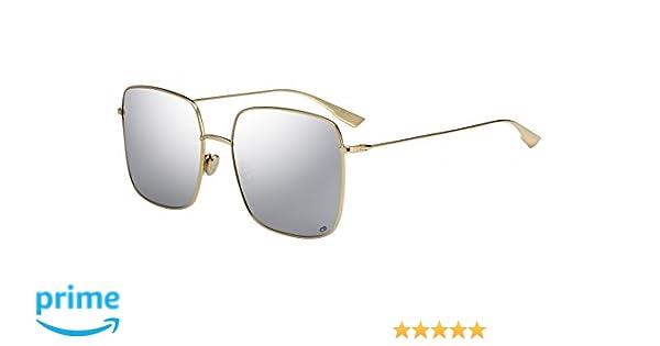 0b7e315de1f1e Amazon.com  Dior STELLAIRE 1 Gold Grey Silver 59 18 145 Women Sunglasses   Clothing