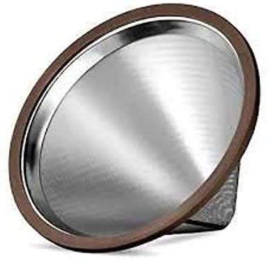 Stainless Steel coffee filter,Pour Over Cone Dripper and Reusable Coffee Filter ,Coffee cone filter
